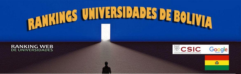 RankingWeb de universidades 2020: Bolivia