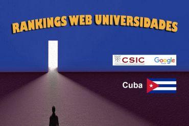 RankingWeb de universidades 2020: CUBA