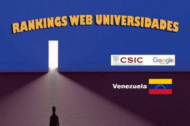 ranking web de universidades 2020: venezuela