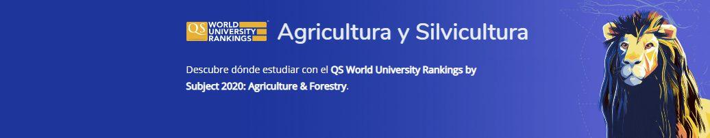 mejores Universidades en Agricultura y Silvicultura