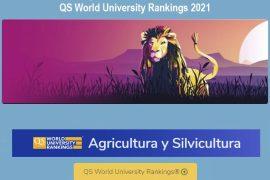 ranking qs, mejores universidades en agricultura y silvicultura