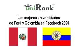 mejores universidades de perú y colombia en facebook