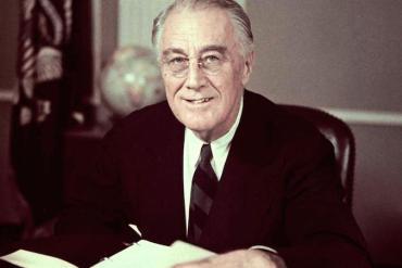 mensaje del presidente roosevelt