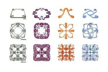 los bloques de construcción versátiles crean estructuras con propiedades mecánicas sorprendentes