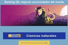 ranking qs, mejores universidades latinoamericanas en ciencias naturales