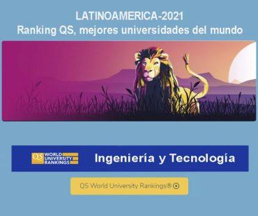 ranking qs ,mejores universidades latinoamericanas en ingeniería y tecnología