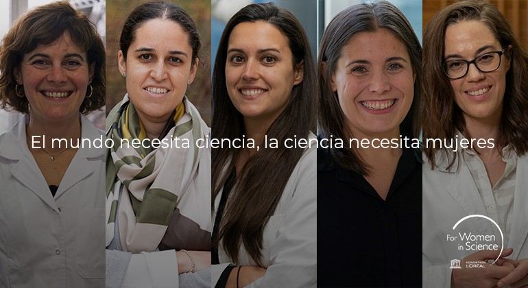 women in science premia a cinco investigadoras españolas