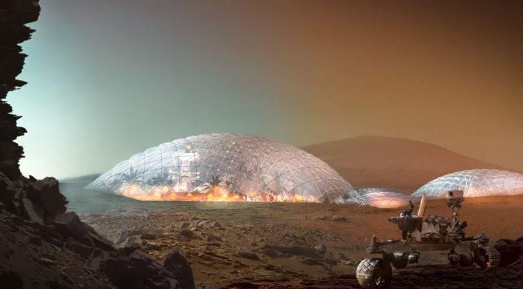 Un asentamiento en Marte solucionaría problemas en Tierra