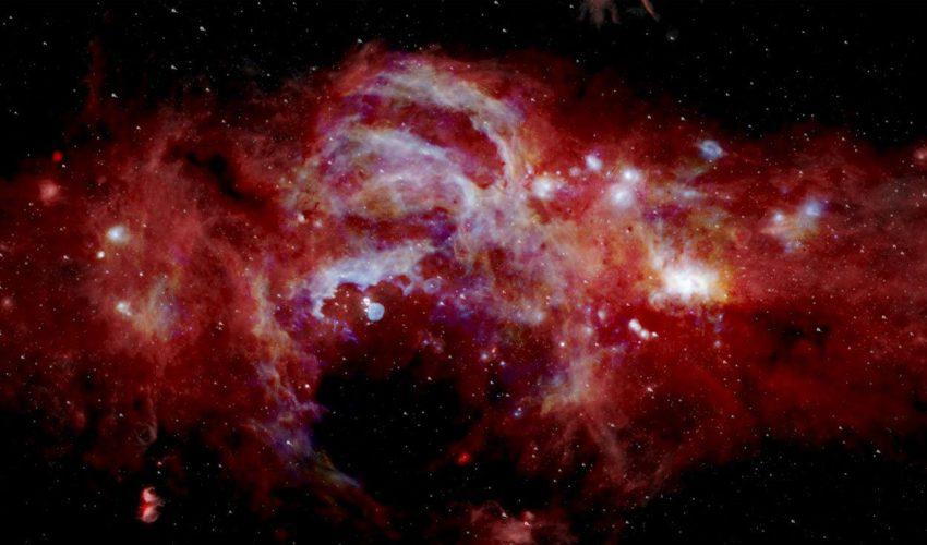 Descubren en el espacio molecula origen de la vida4
