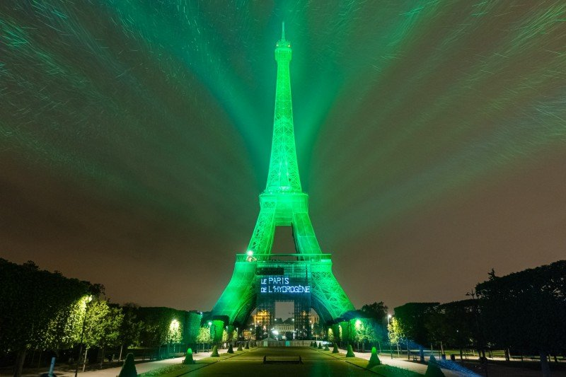 Toyota Mirai Hidrogeno Torre Eiffel
