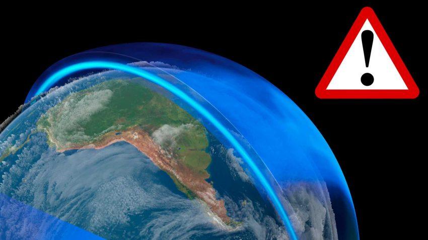 El agujero de la capa de Ozono mayor que la Antartida