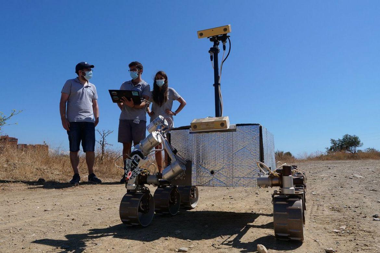 Un vehículo que recogerá muestras en Marte