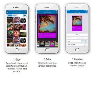 este verano ya es posible imprimir fotos directamente desde el móvil