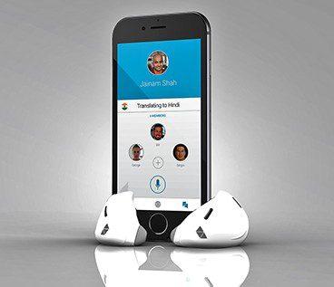 auriculares inteligentes , primer traductor automatico de idiomas