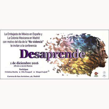 """1 diciembre , día de la """"no violencia"""" , embajada de mexico"""