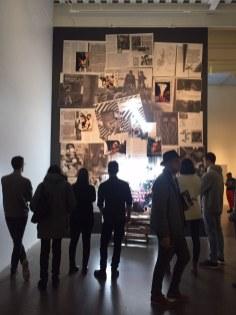 Imagem da exposição no New Museum.