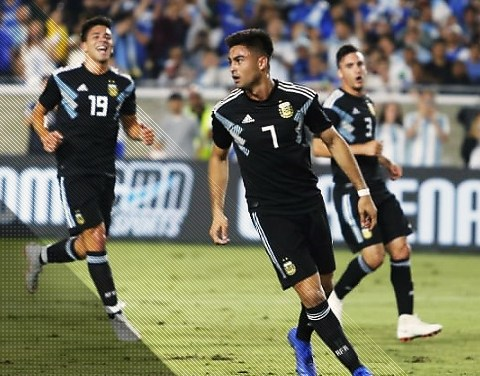 Goleó Argentina en el debut de la era Scaloni