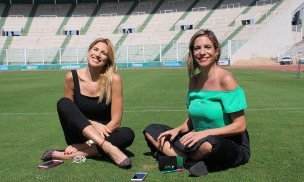 Alina Moine y Angela Lerena en Cordoba
