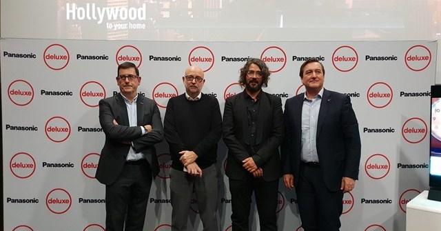 Panasonic y Deluxe firman un acuerdo para llevar la calidad de Hollywood a nuestros hogares