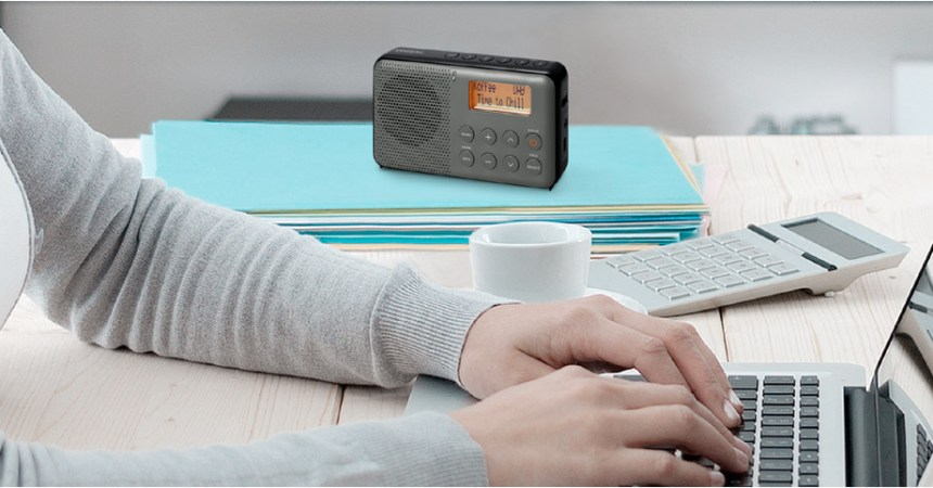 Sangean DPR64: radio en cualquier lugar