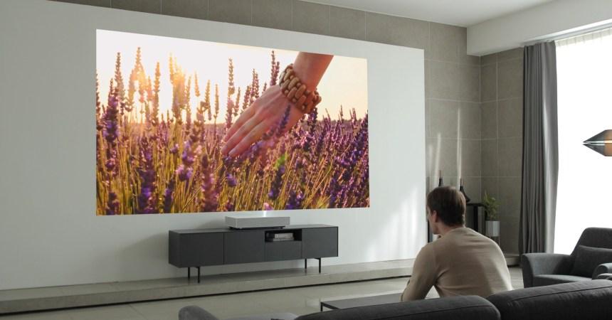 LG presentará su nuevo proyector 4K en CES 2019