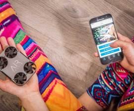 AirSelfie2, la cámara aérea para smartphones