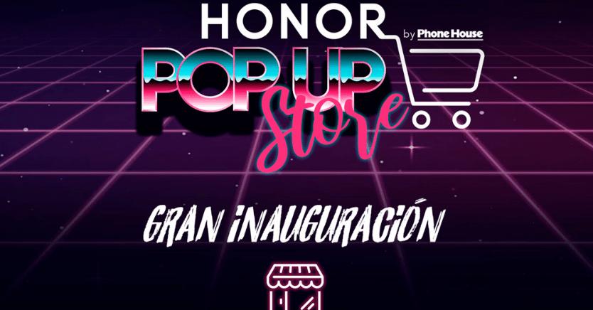 HONOR abre sus primeras tiendas físicas en España