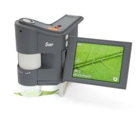 Celestron presenta un microscopio digital totalmente portátil