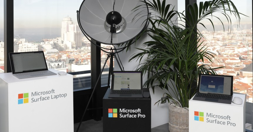 Surface Pro 6, Surface Laptop 2 y Surface Studio 2 ya a la venta en España