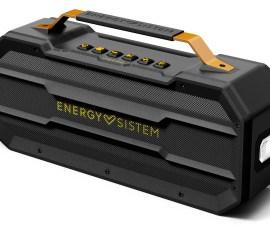 Energy Sistem presenta un nuevo altavoz resistente a golpes y salpicaduras