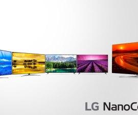 """LG anuncia precios para sus televisores LCD 4K """"NanoCell"""" 2019"""
