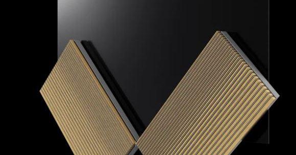 Bang & Olufsen tiene un televisor OLED con alas que se mueven