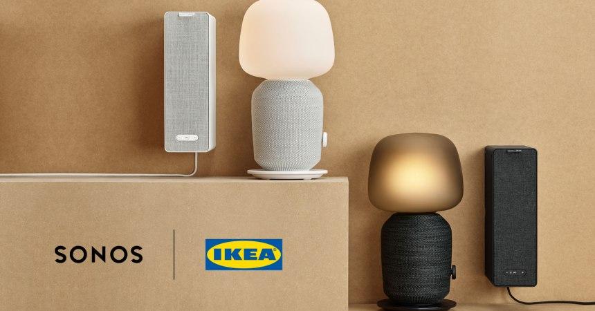 Sonos se une a Ikea para ofrecernos una lámpara sonora