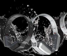 Auriculares Luzli enrollables, inspirados en relojes suizos