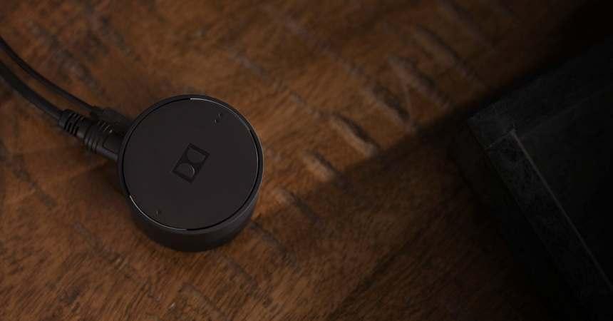 Nuevo adaptador de Dolby para transmitir sonido a dos auriculares