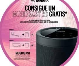 YAMAHA regala un altavoz MusicCast 20