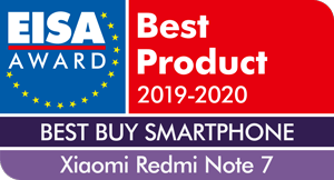 EISA-Award-Xiaomi-Redmi-Note-7
