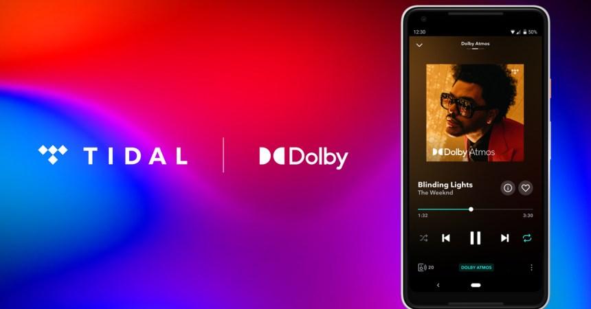 Tidal HiFi Dolby Atmos