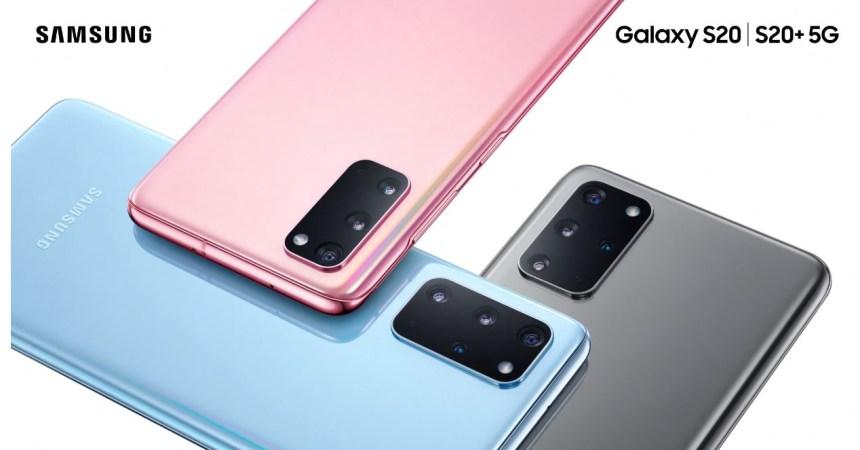 Samsung Galaxy S20, S20+ y S20 Ultra