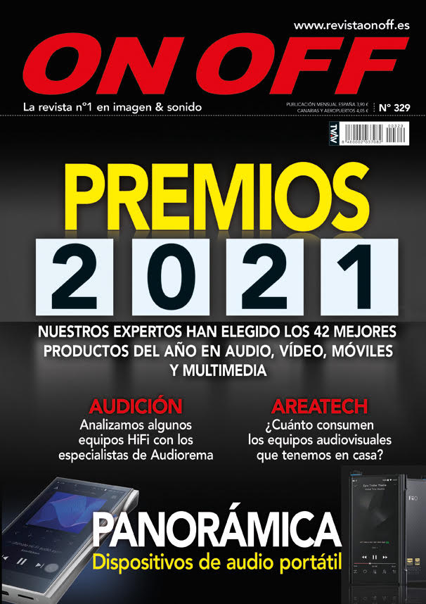 Portada de número 329 de la revista on off