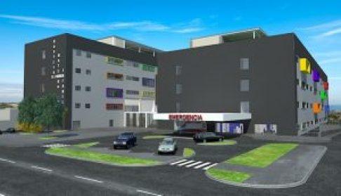 """Maqueta del Hospital """"El Carmen"""" Huancayo"""