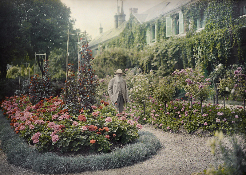 Filme raro mostra Claude Monet pintando as Ninfeias em Giverny - Revista Prosa Verso e Arte