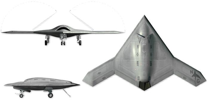 Drone X 47b Aterriza Sin Asistencia Humana