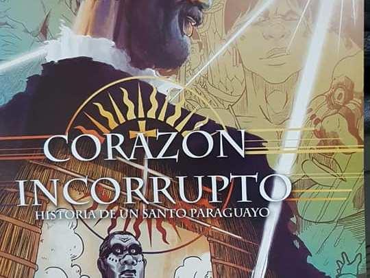 Jóvenes presentan Cómic inspirado en San Roque González de Santa Cruz