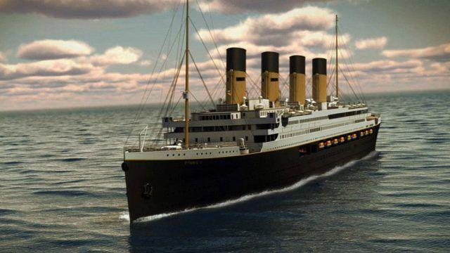 El Titanic se prepara para zarpar en el 2022