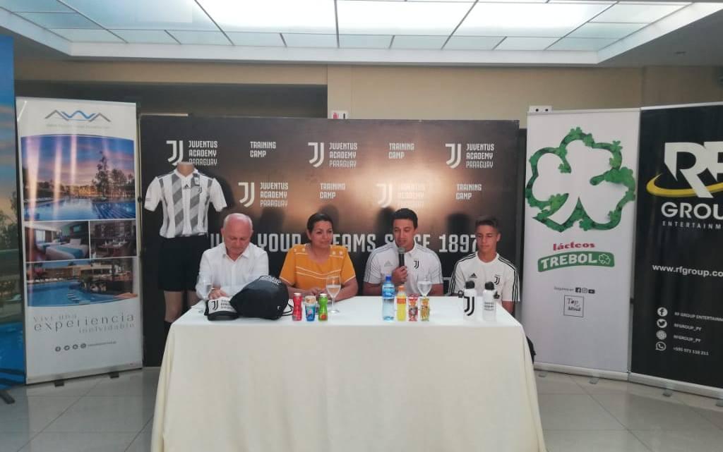 Presentaron el «Juventus Training Camp Paraguay – Encarnación 2020»