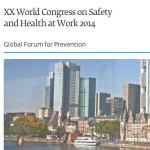 XX Congreso Mundial de Seguridad destaca importancia de redes de colaboración