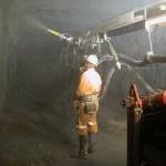 Ventajas de la fibra sintética estructural en minería subterránea