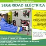 Curso de prevencion de riesgos y seguridad electrica