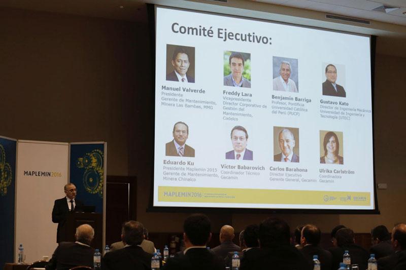 Inauguración y presentación del Comité ejecutivo del 3° Maplemin